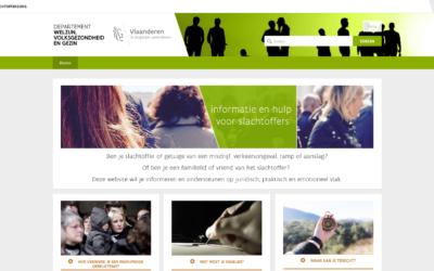 Nieuwe website slachtofferzorg.be