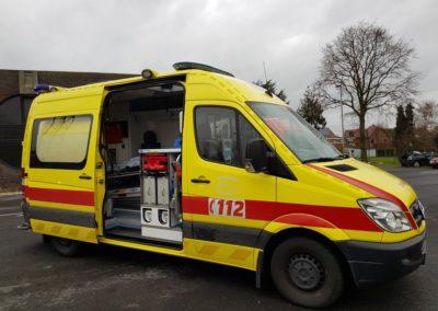 Brandweer-Vlaamse-Ardennen-Kruishoutem-Ziekenwagen
