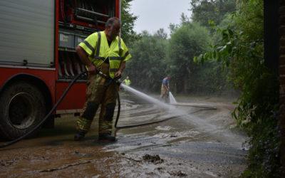 Wateroverlast in onze regio
