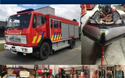 Online veiling brandweermateriaal