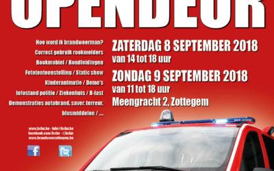 Opendeur Post Zottegem – zaterdag 8 en zondag 9 september