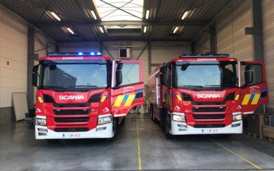 Nieuwe tankwagens voor posten Kruisem en Ronse