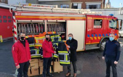 BVLAR helpt brandweer te Portugal in hun strijd tegen bosbranden
